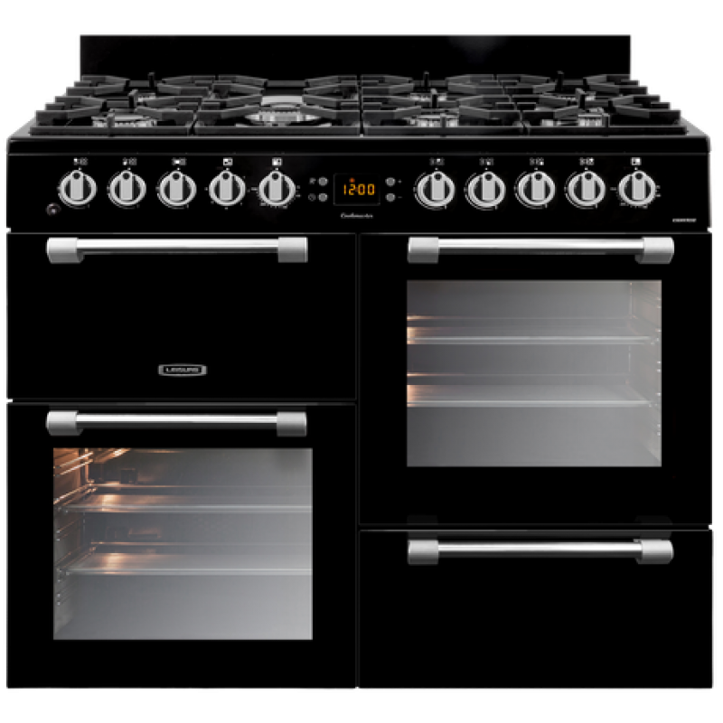 100cm Dual Fuel Gas Electric Freestanding Cookmaster By