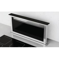 Award 60cm In-Bench Riser Rangehood in Stainless Steel & Black Glass (DD601SS)