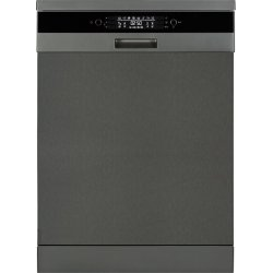 Award 60cm Black Steel Freestanding 15 Place Dishwasher (DWT36BS)