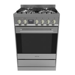 Parmco 60cm SS Freestanding Gas Hob & Electric Oven Cooker (FS600SG)