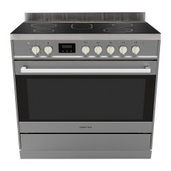 Parmco 90cm SS Ceramic Cooktop Electric Oven with Catalytic Cleaning (FS900SC)