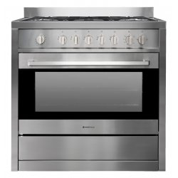 Parmco 90cm Stainless Steel Freestanding Full Gas Cooker (AR 900-GAS GAS)