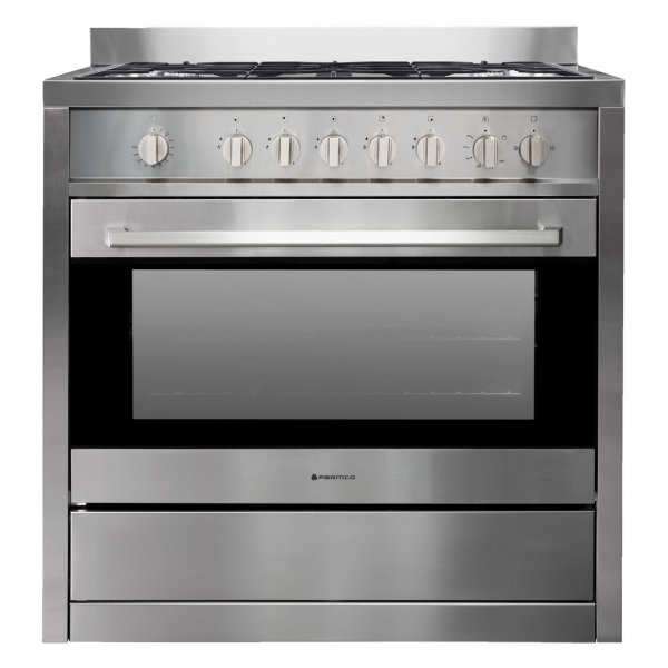 Parmco 90cm Stainless Steel Freestanding Full Gas Cooker (AR900-GAS GAS)