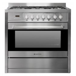 Parmco 90cm SS Freestanding Gas Electric Combination Cooker (AR900-GAS ELECTRIC)