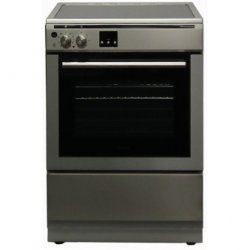 Award 60cm Freestanding Induction Hob  Electric Oven Cooker in Stainless Steel (AFEIND151)