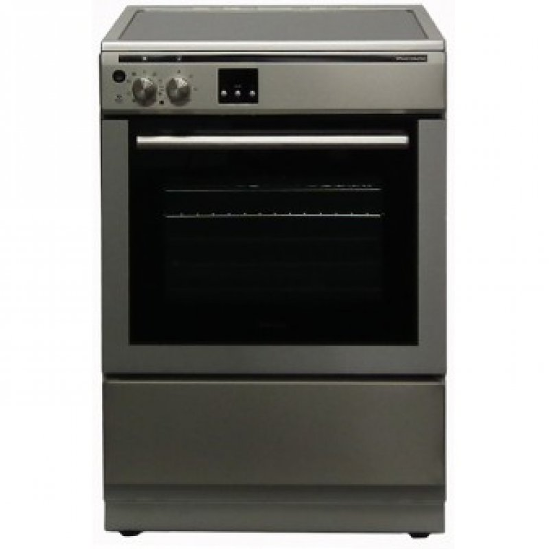 Electric Cookers Freestanding ~ Award cm freestanding induction hob electric oven cooker