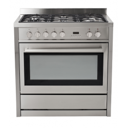 Eurotech 90cm Gas Hob/Electric Oven Freestanding Cooker (EUR-FSG90)