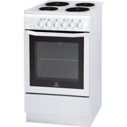 Indesit Freestanding Electric Cooker with EGO Electric Elements 50cm (I5ESHW)