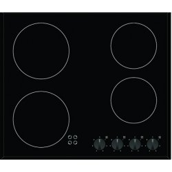 Eurotech 60cm Black Ceramic Cooktop with 5 year Warranty (EDV604NF)