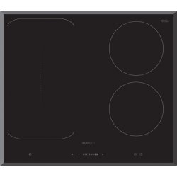 Eurotech 60cm Black 2 Induction Zones & 1 Freezone Cooktop (ED-IFZ604)
