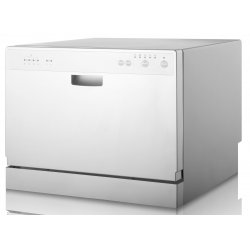 Award 55cm Benchtop Compact Dishwasher in White (D3203DW)