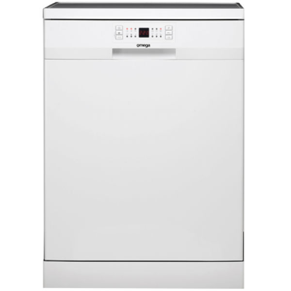 60cm White Freestanding Dishwasher by Omega (ODW507TWB)