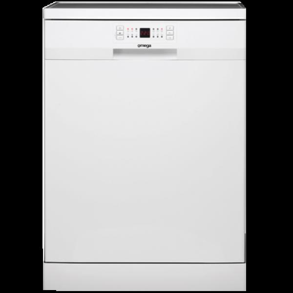 Omega 60cm White Freestanding Dishwasher (ODW507TWB)