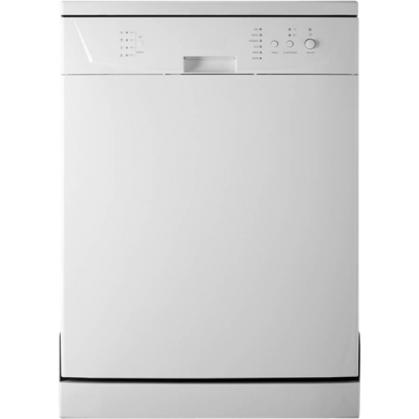 60cm wide 6 Programme Dishwasher by Trieste (TRD-WQP12-9240F WH)