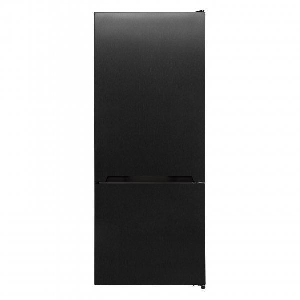 Award 452L Black Steel Fridge/Freezer - Bottom Mounted (GTSN462BS)