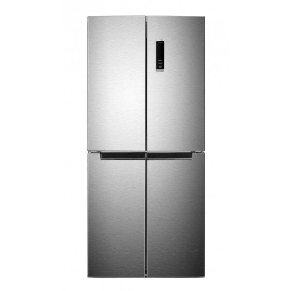 Eurotech 473L Quad Door Fridge/Freezer - Stainless Steel (ED-RFFD473SS)