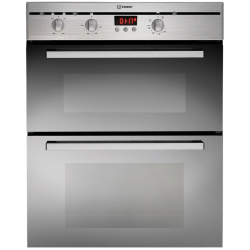 Indesit 60cm Double Under Bench/Wall Multi-function Oven in Stainless Steel (FIMU 23 IX)
