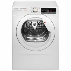 Hoover 8.5kg White Front Loading Vented Dryer with Wi-Fi Connectivity (HLXV85TGX-AUS)