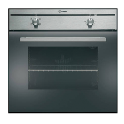 Indesit Built in Oven - Static 4 Function Stainless Steel 60cm (FIM 20 K.A IX)