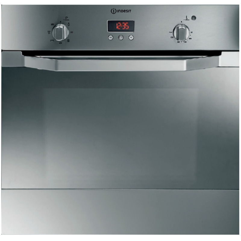 56cm Built In Electric Fan Forced Oven 6 Function By Indesit If63