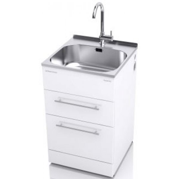 Robinhood Supertub - Classic with Double Drawer, All Pressure Tap, Pole Handle 56cm  (ST7001)