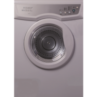 6kg Electric Vented Clothes Dryer By Trieste Ed D6kg