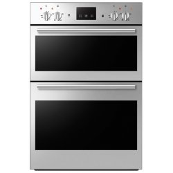 Award 60cm Built-in Double Wall Oven in Stainless Steel (O882S)