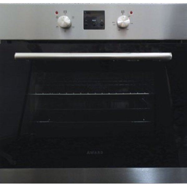 Award 60cm Built-in 70L Fan Assisted Wall Oven (WO500-4S)