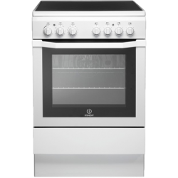 Indesit 60cm Ceramic/Electric White Freestanding Cooker (I6VV2AW)