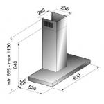 Award 90cm Wall Mount Canopy Silent Series Rangehood (CS7-901SI)