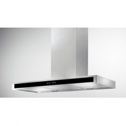 Award 90cm Flat Box Wall Mount Canopy Stainless Steel/Black Glass Rangehood (CS8-901SI)