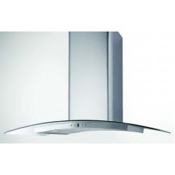 Award 90cm Island Curved Glass Canopy Rangehood (ICG90SI)