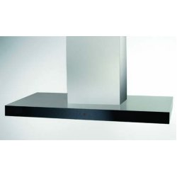 Award 120cm Island Box Canopy Rangehood with Black Glass (ICS1202ST)