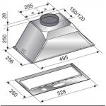 Award 52.5cm Power Pack Built-In Rangehood( PPS601)