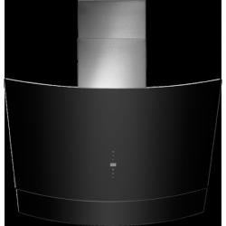 90cm Black Glass