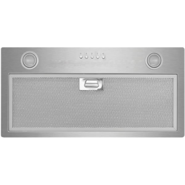 Eurotech 60cm Powerpack Rangehood 760m3/hr Extraction Rate in Stainless Steel (ED Powerpack 60)