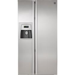 Daewoo Fridge Freezer - Double Door Auto Ice Maker 604L (FRS-U20 DAS-SS)