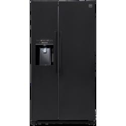 90cm 608 Litres Daewoo Black Double Door Ice / Water (FRS-X22D3TNP)