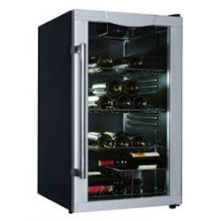 Trieste Wine Cooler Stainless Steel Fully Assembled 50cm (ED-WC40B)