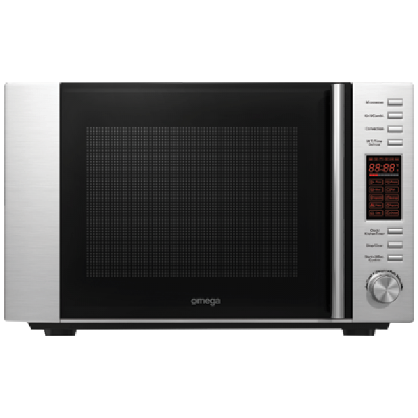 Omega Stainless Steel Convection Microwave Oven Grill 30L (OM30CX)