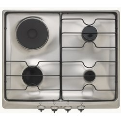 Trieste 60cm Unbranded Gas/Electric Dual Fuel Cooktop in Stainless Steel (TR 631 IX)