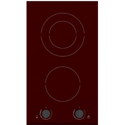 Trieste 30cm Bevelled Edge Vitroceramic Glass Cooktop (TRV 602 NF)