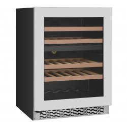 Award 60cm Advanced Series Undercounter 39 Bottle Dual Zone Wine Cooler (WCDZ60S)