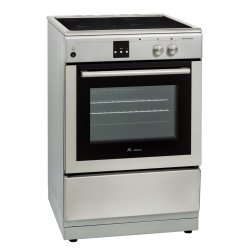 Award 60cm Freestanding Induction Hob  Electric Oven Cooker in Stainless Steel (AFEIND1510)