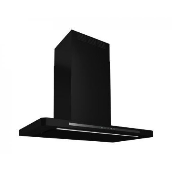 Award 90cm Low Noise Canopy Rangehood in Matt Black (CSP90-MBSI)