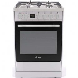 Award 60cm Freestanding SS Gas Hob/Electric 80L Oven with Catalytic Liners (AGE60S)