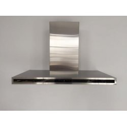 Award 90cm Slim Box Black Glass Canopy Rangehood by Award (CW49510)