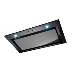 Award 51.8cm Built-In Power Pack Black Glass Low Noise Rangehood (PPS602BL-SI)