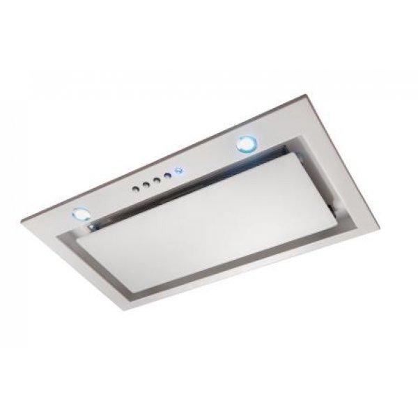 Award 71cm Built-In Power Pack White Glass Low Noise Rangehood (PPS802WH-SI)