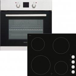 Award 60cm Combo Built-in Wall Oven & Frameless Vitroceramic Hob (WOH60S)